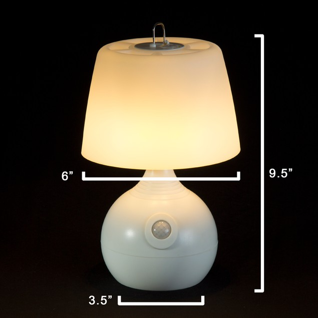 Lavish Home Motion Sensor 12 LED Table Lamp