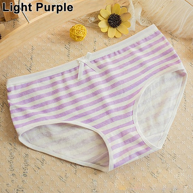 Women Summer Navy Style Striped Lovely Panties