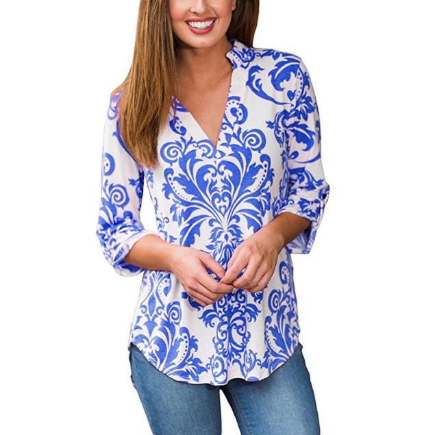 Women's Bold Paisley Shirt