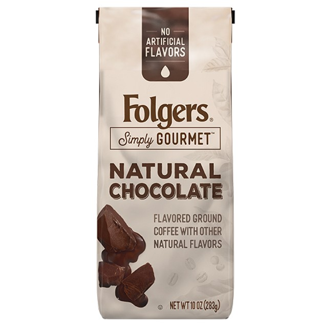 Folgers Simply Gourmet Natural Chocolate Ground Coffee