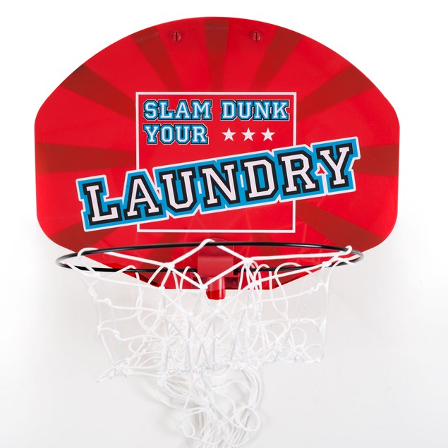 Over the Door Dunk Your Laundry Hamper Basketball