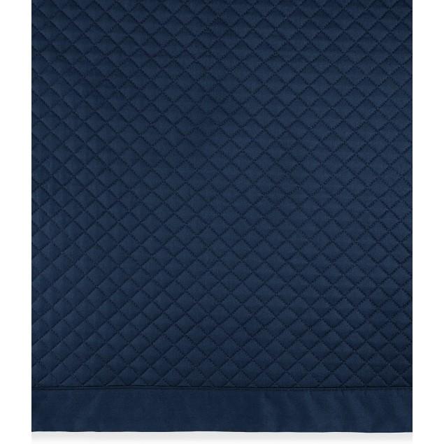 Ralph Lauren Wyatt 300 Thread Count Full/Queen Quilt Coverlet, Polo Navy