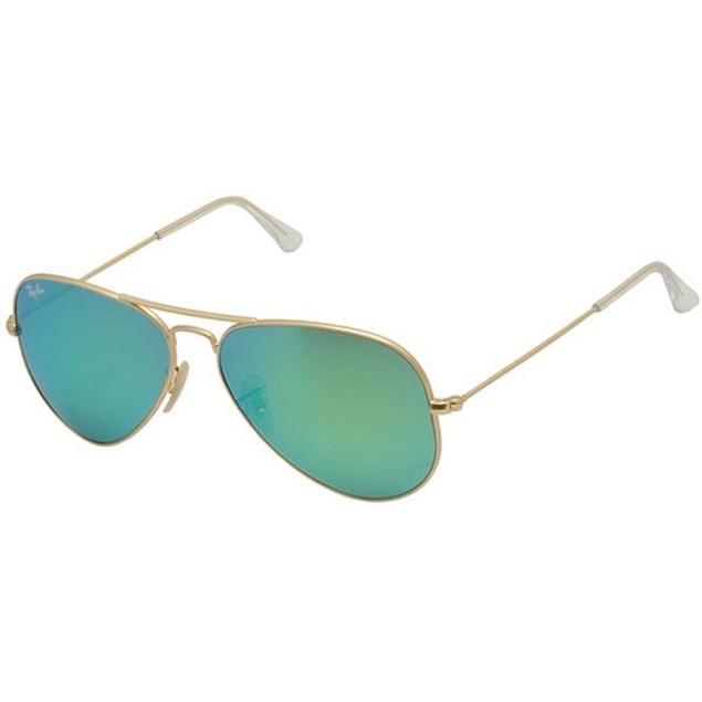 Ray-Ban Aviator Large Metal Gold Unisex Sunglasses RB3025-112/19-58
