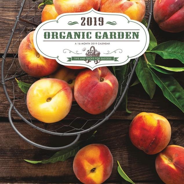Organic Garden Wall Calendar, Gardens by Calendars