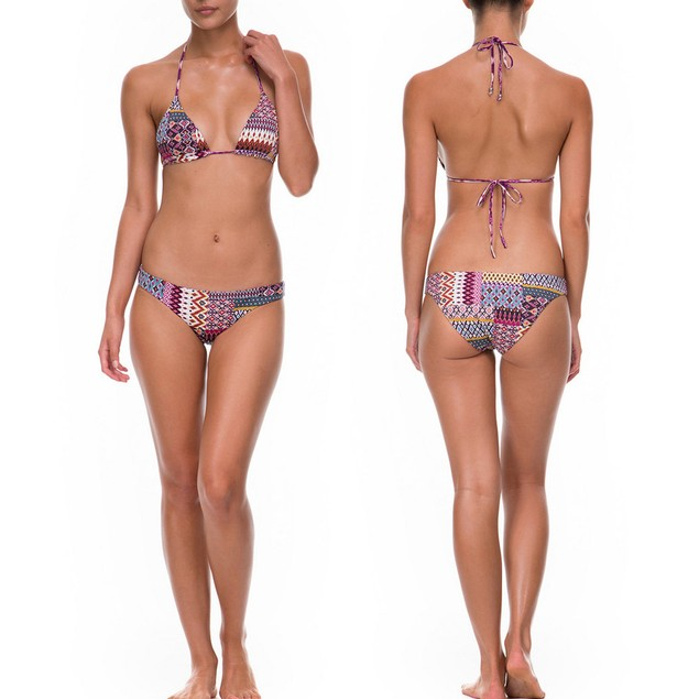 2017 Women Padded Push-up Bikini Set Swimsuit Swimwear Beachwear