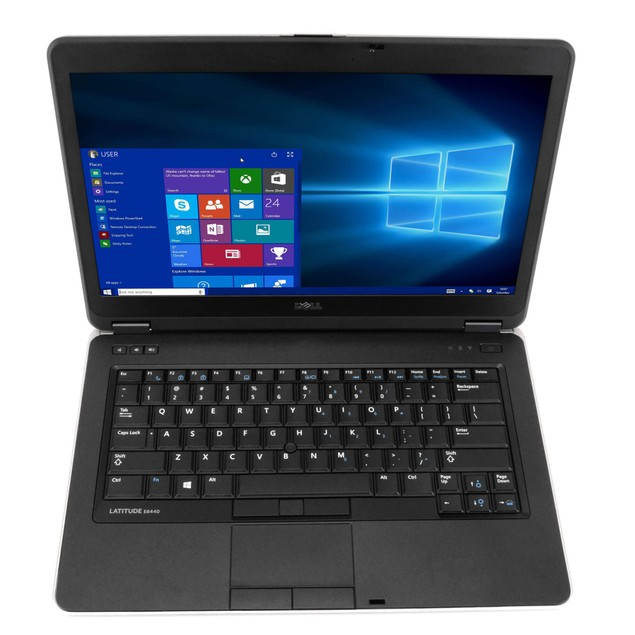 Dell Latitude E6440 Intel  i7 16GB 512GB SSD Windows 10 Pro WiFi PC