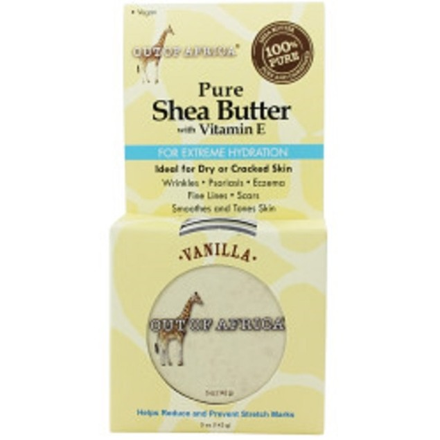 Out of Africa Vanilla Shea Butter Tin, 5 Ounce