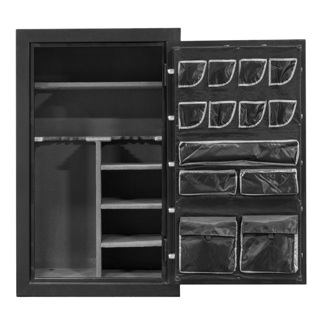 Gun Organizer Cabinet Storage SAFE Vault for Rifle Shotgun w Keypad Lock