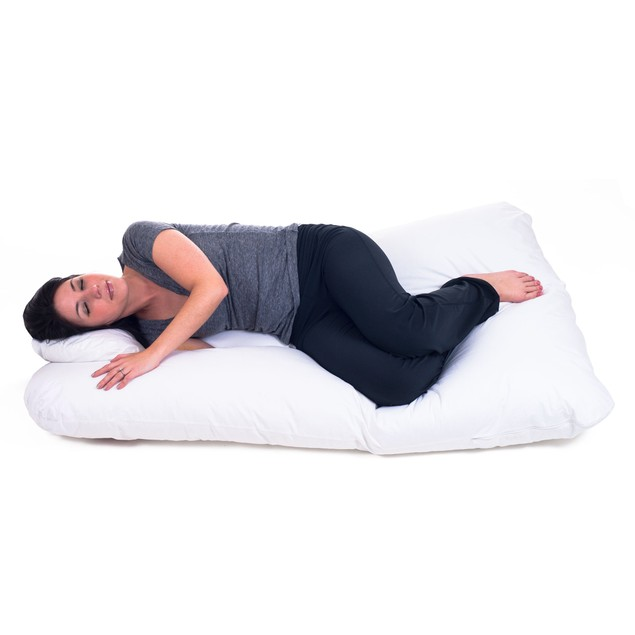 Remedy Full Body Contour U Pillow - Great for Pregnancy