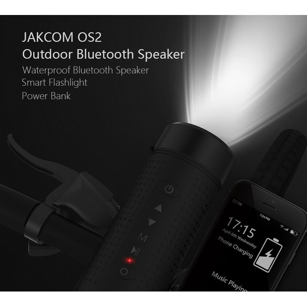Jakcom OS2 Outdoor Bluetooth 5200mAh Battery Pack Subwoofer Speaker
