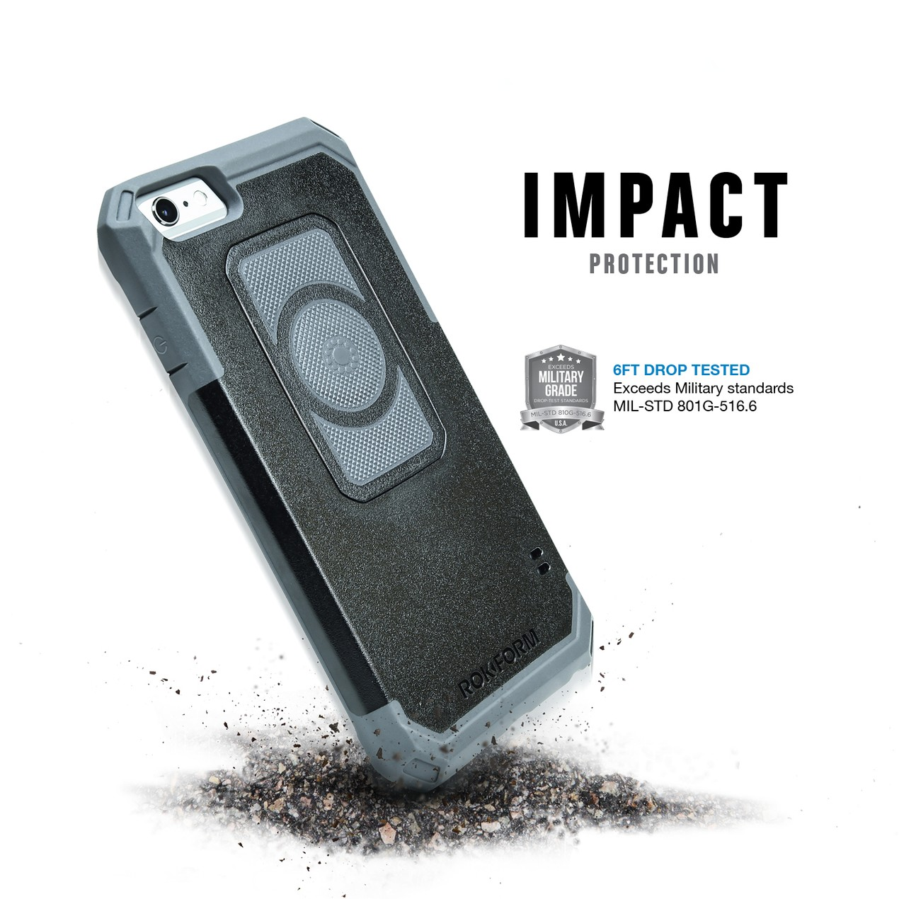 big sale e2e76 ab403 Rokform iPhone 6/6s or 6 Plus/6S Plus Rugged Case - Tanga
