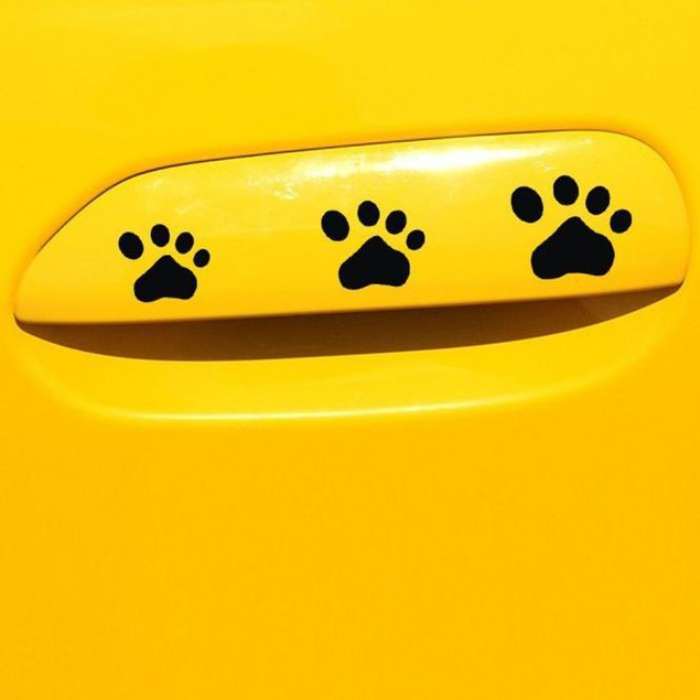 DOG PAW Puppy Decal Sticker for Cars Walls Laptops and other stuff