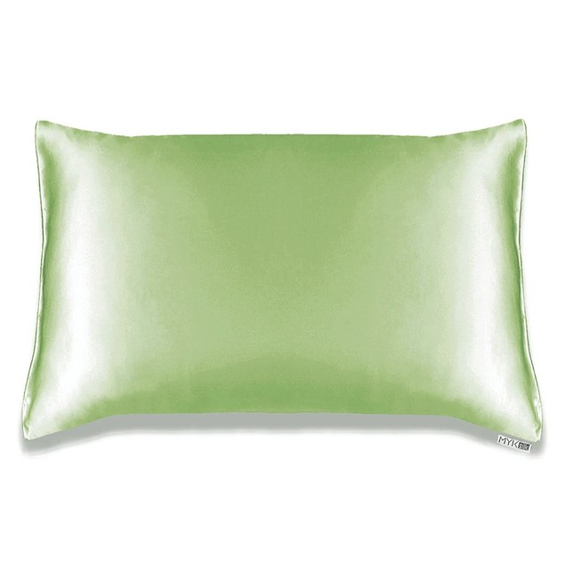 MYK Natural 19 Momme Mulberry Silk Pillowcase, Toddler Size