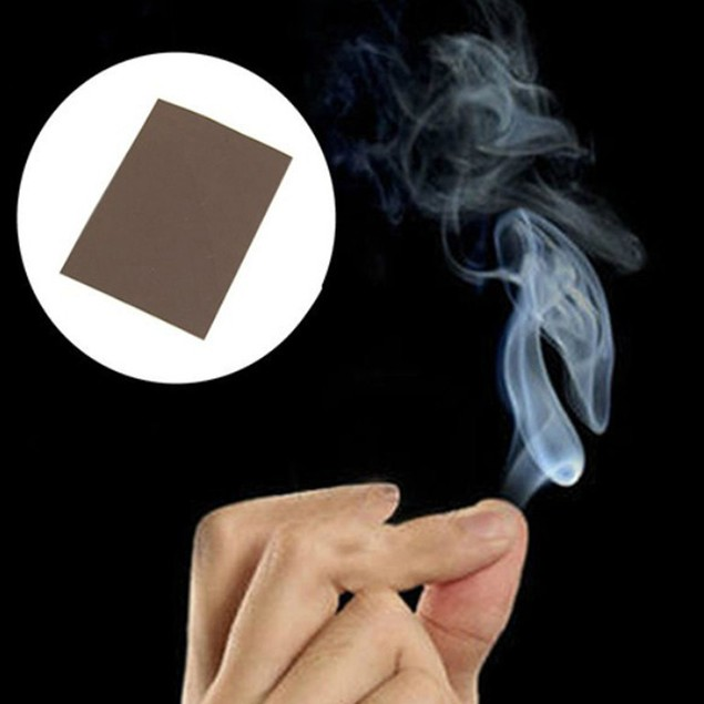 Magic Smoke from Finger Tips Magic Trick Surprise Prank Joke Mystical Fun
