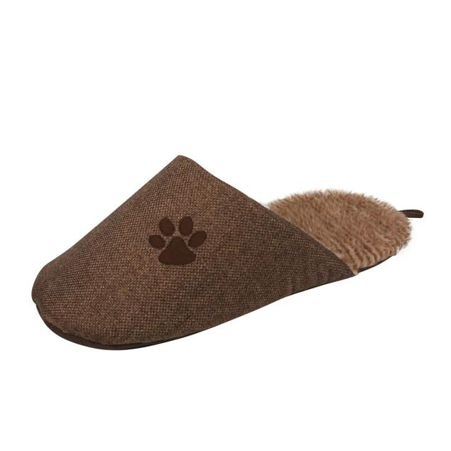 Slip-On Fashionable Slipper Dog Bed