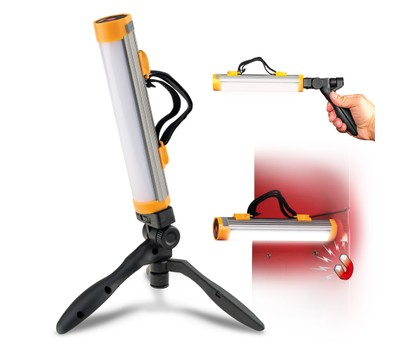 Powerglow Rechargeable 250 Lumen LED Work Light with Tripod Was: $49.99 Now: $14.99.