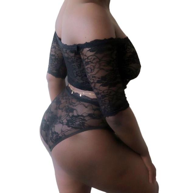 Women Translucent Women Lace Briefs Underwear Underwear