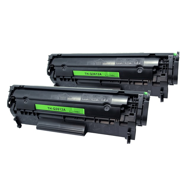 HP Q2612a Compatible Laser Toner - 2 Pack