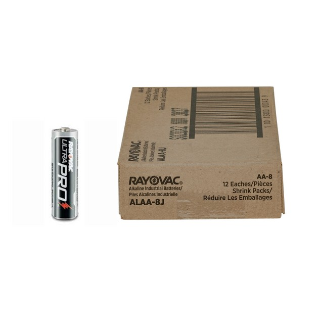 Rayovac Ultra Pro Alkaline AA Batteries (1 Box - 96 Batteries)