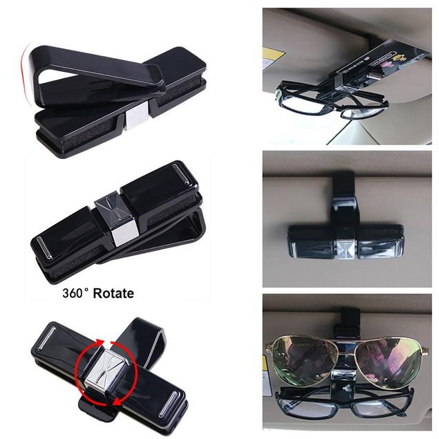 Car Accessory Sun Visor Sunglasses Eye Glasses Card Pen Holder Clip NEW@0