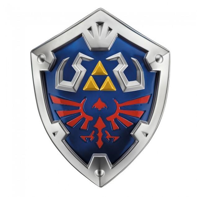 Link Shield Legend Of Zelda Triforce Licensed Costume Adult Children Game