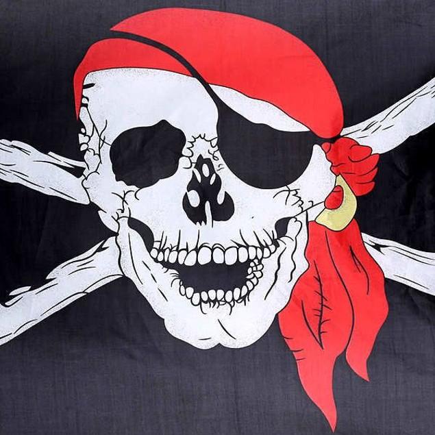 Картинки череп с флагом
