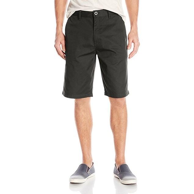 Volcom Men's Frickin Chino Short, Black, SZ  34