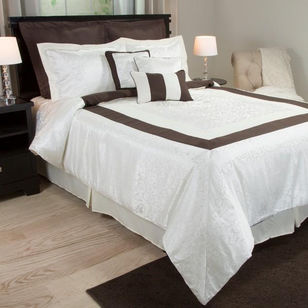 Lavish Home 9-Piece Camille  Comforter Set