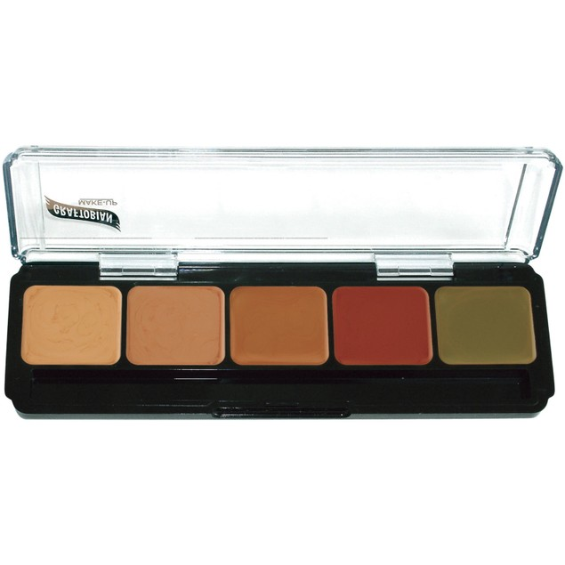 Corrector Dark HD Glamour Creme Correction and Contour Palette