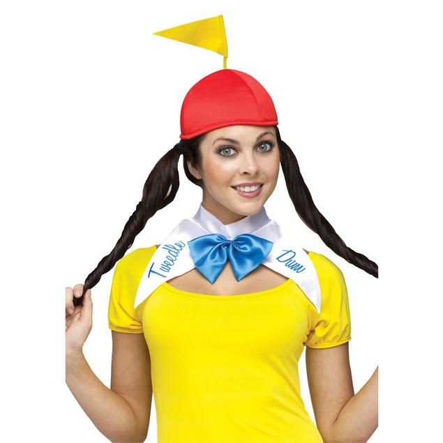 Tweedle Dee and Tweedle Dum Womens Costume Adult Alice In Wonderland Sexy