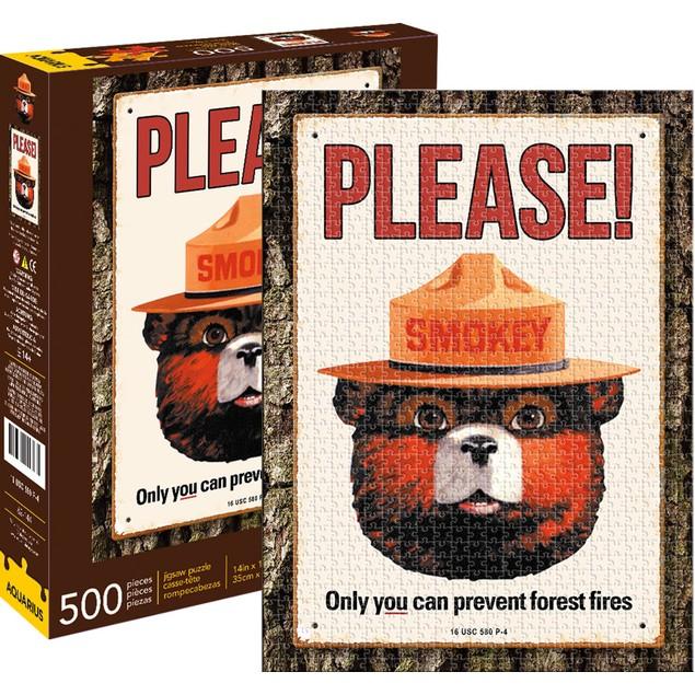 Smokey The Bear 500 Piece Puzzle