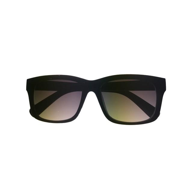 Kenneth Cole Reaction Mens Plastic Black Rectangle Sunglass  KC1181  1B