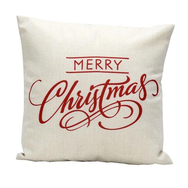 2PCS Linen Square Throw Flax Pillow Case Decorative Cushion Pillow Cover G