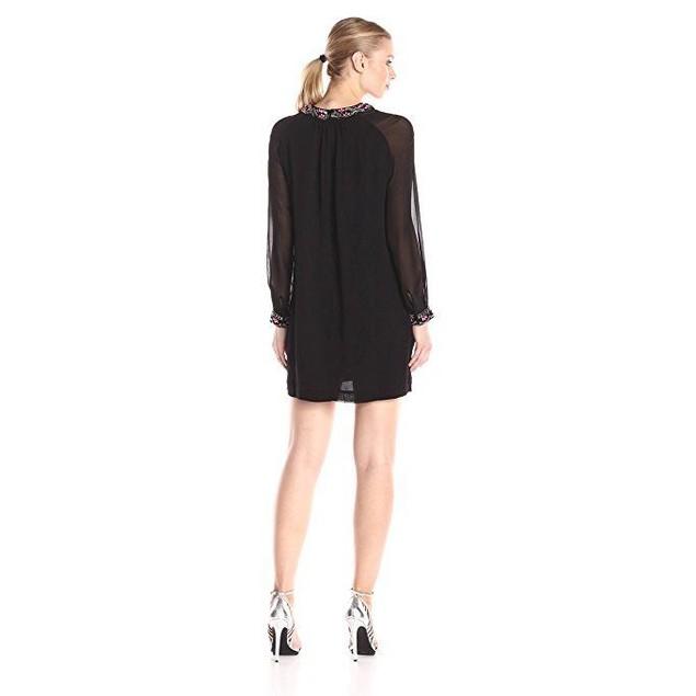 French Connection Women's Siren Jewel Longsleeve Dress Sz: 0
