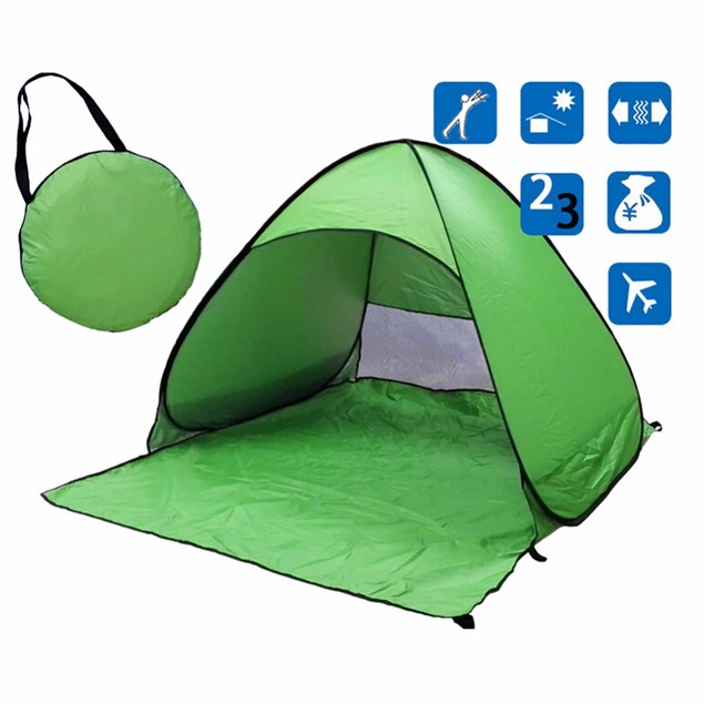 Folding Tent Automatic Open Outdoor Camping Beach Anti-UV