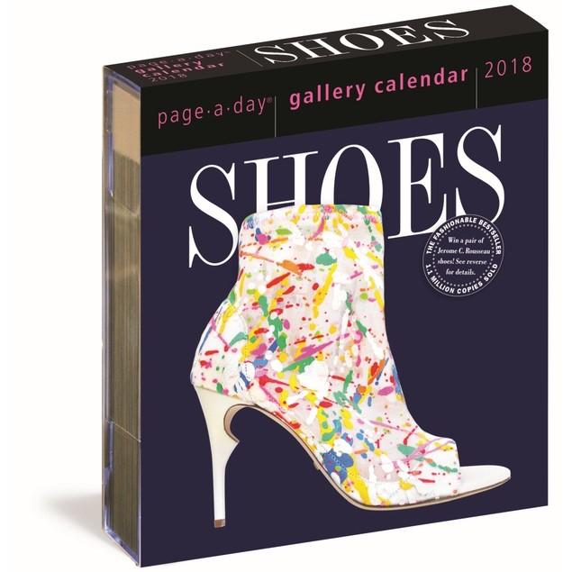 Shoes Gallery Desk Calendar, Fashion by Calendars