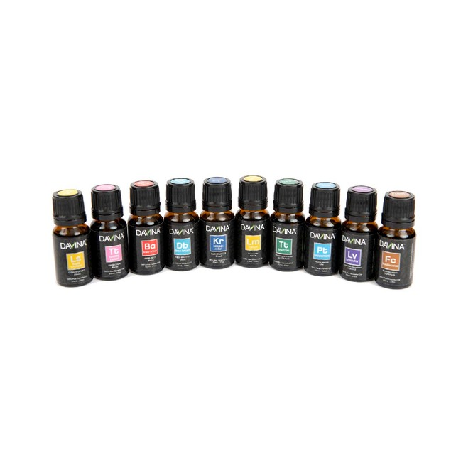 Favorite 5 Singles & 5 Blends Essential Oil 10 Piece Collection