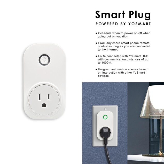 MiLocks YoSmart Hub with Smart Plug Bundle