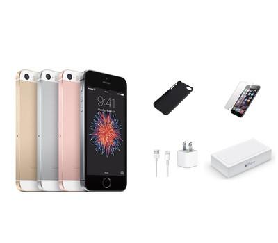 Apple iPhone SE 4G Unlocked Bundle - 64GB Was: $449 Now: $104.99.