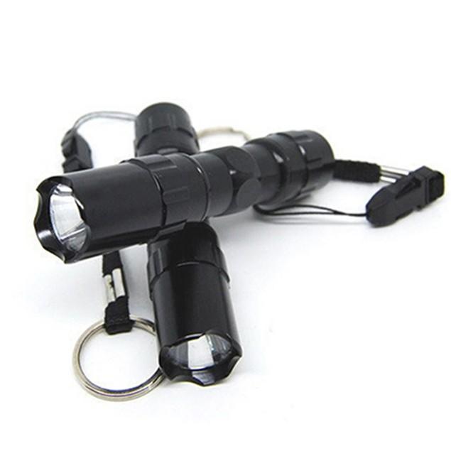 Mini Portable Super Bright 3W LED Lamp Flashlight Focus Torch Waterproof