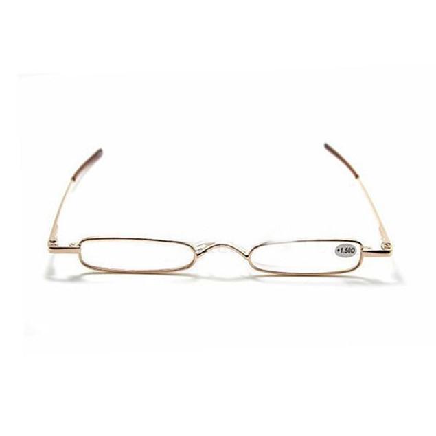 Fashion Mini Slim Portable Reading Glasses Pen Tube Case 1.00-4.00 Diopter