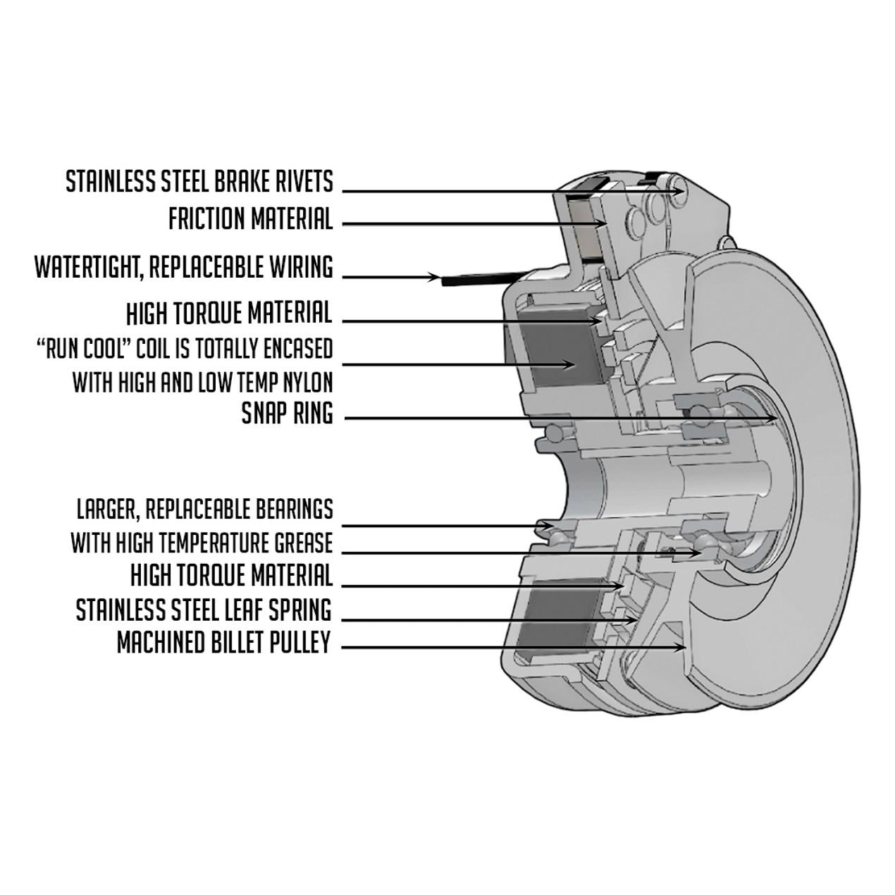 New Pto Clutch Fits Snapper Pro S150xt S200xt S50xt S75xt Sw30 Wiring Diagram Series