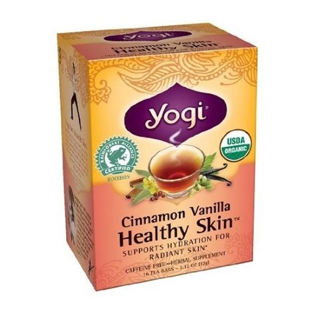 Yogi Tea Cinnamon Vanilla Healthy Skin Tea