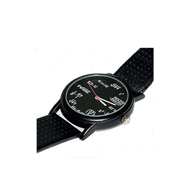 Math Equation Watch Student Teacher Gift Wristwatch Geeky Funny Humor Nerd