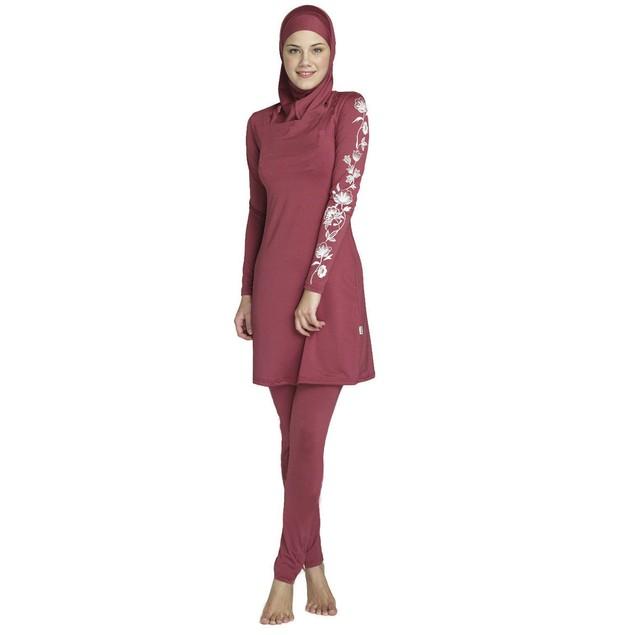 Muslim Swimwear swimsuit for islamic women with hijab #170212W3