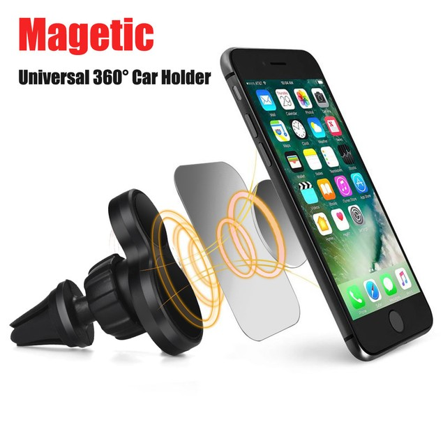 Universal Magnetic Car Air Vent Holder Mount Cradle Stand For Phone GPS