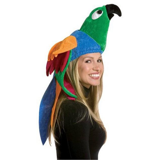 Deluxe Parrot Hat