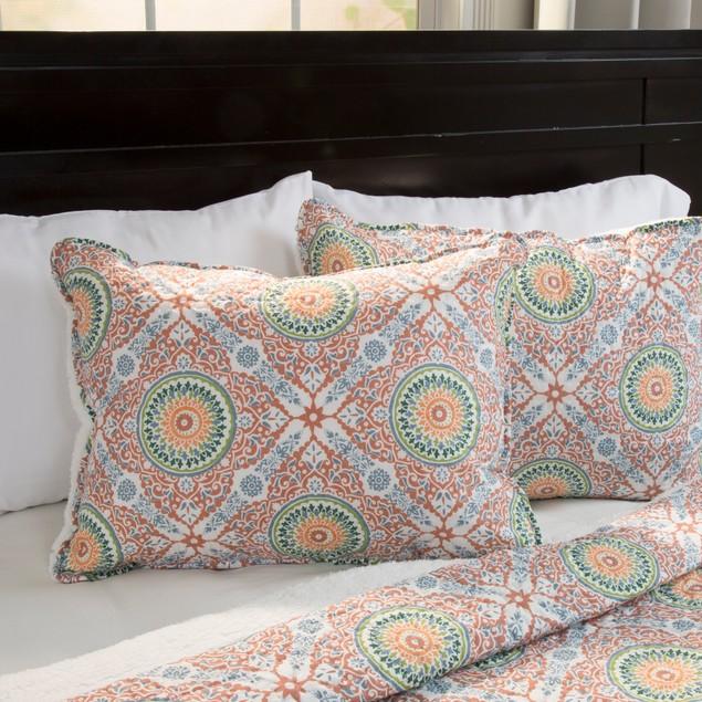 Lavish Home Emilia Reversible 3 Piece Quilt Set with Sherpa - F/Q