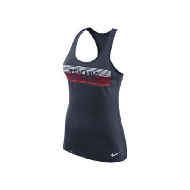 Houston Texans NFL Nike Women's Dri-Fit Touch Tank Top