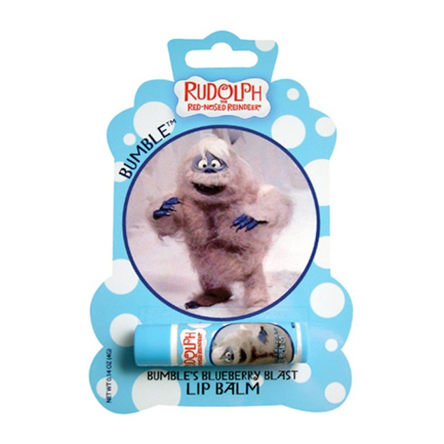 Rudolph The Red Nosed Reindeer Blueberry Blast Lip Balm Chapstick Christmas